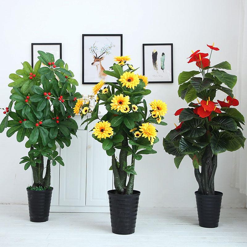 Cây hoa giả trang trí
